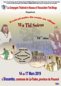 affiche Sissamba 2019